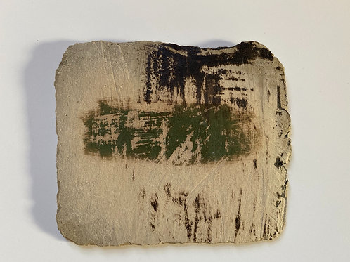 Small wall piece - 'Weathered Bark'