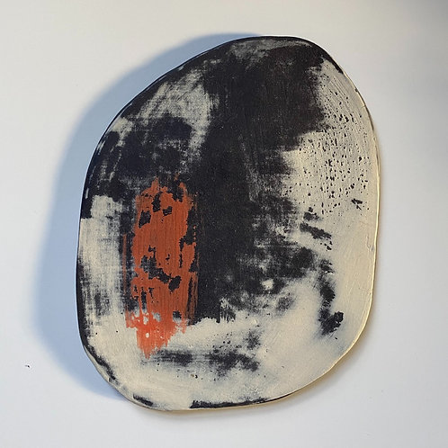 Porcelain Wall Piece - 'Winter Sun'