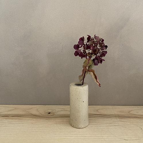 Hand-built bud vase