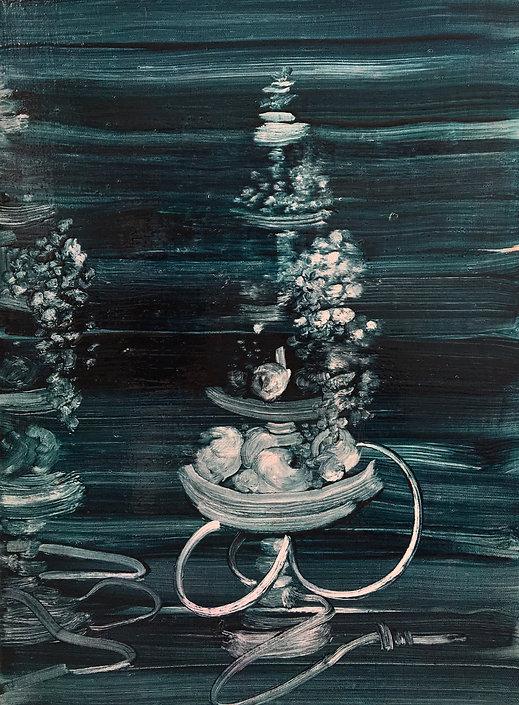 7_Argileh II_16%22 x 12%22_oil on canvas