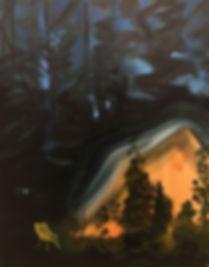 Nightfall, oil on canvas, .jpg