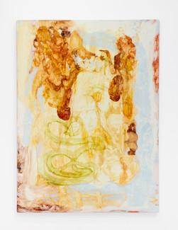 "Risha Plume , 2021, 65"" x 48"", oil on canvas"