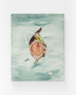 """Shtawi, 2021, 4"""" x 11"""", oil on canvas"""