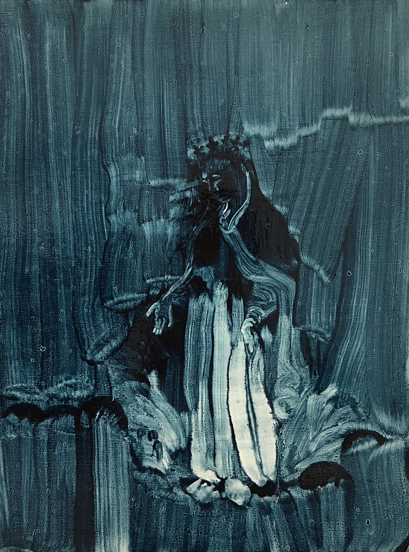 3_Mary II_16%22 x 12%22_oil on canvas_20