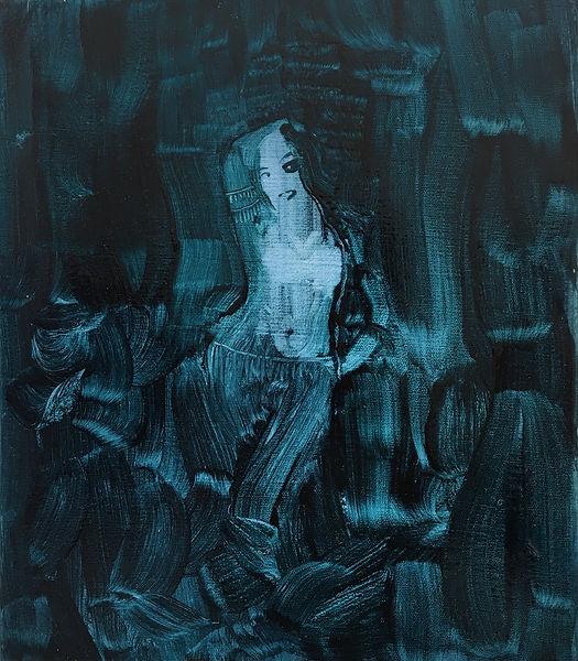 4_Mary_14%22 x 12%22_oil on canvas_2020_