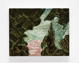 """Sundry Rags, 2021, 16"""" x 20"""", oil on canvas"""