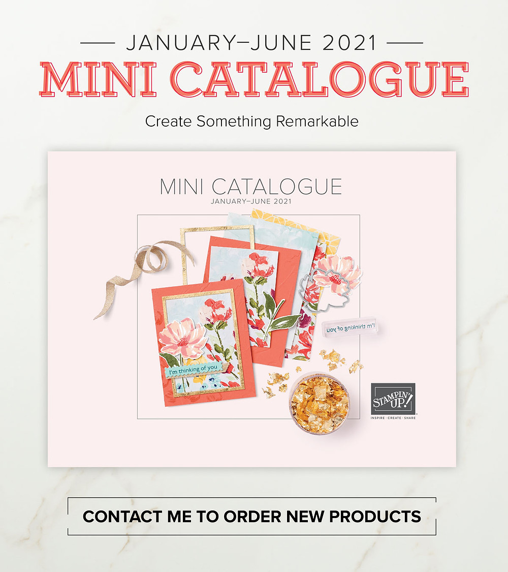 Stampin' Up! January to June 2021 Mini Catalogue Canada