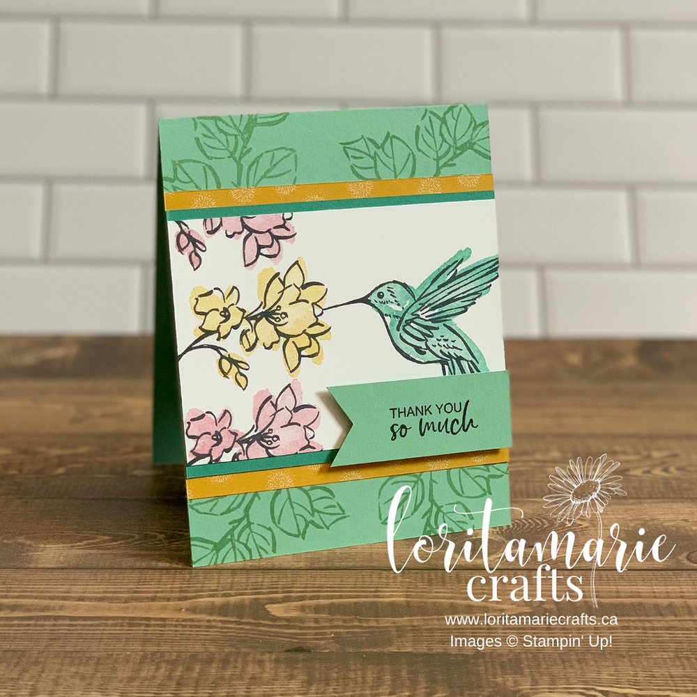 A Touch of Ink Stampin' Up! Canada