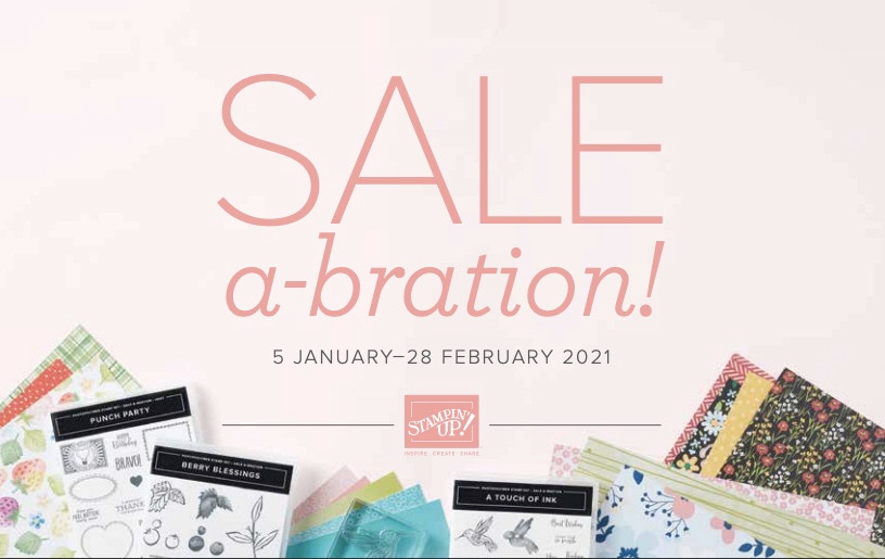 Stampin' Up! Sale-a-Bration January February