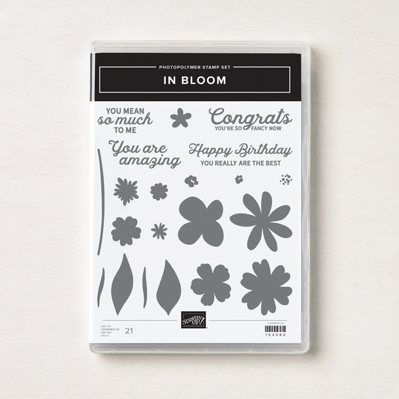 In Bloom Stamp Set Stampin' Up! Canada