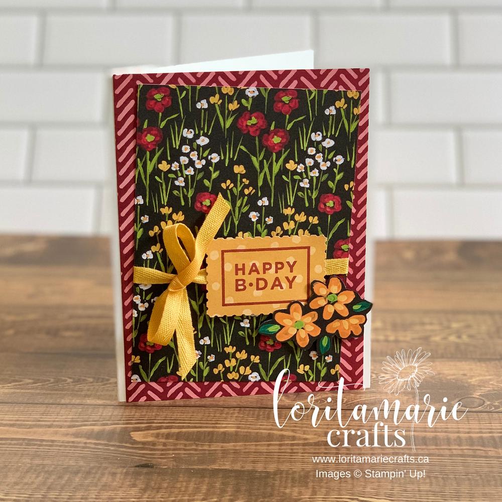 Flower & Field Designer Series Paper Stampin' Up!