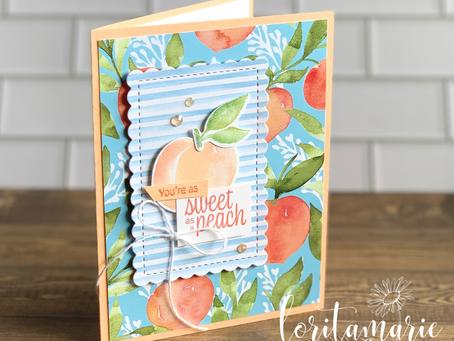 You're a Peach! Thank You Card & Teacher Gift