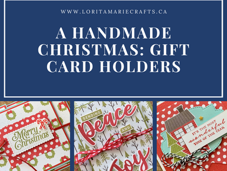 A Handmade Christmas: Make Your Own Gift Card Holders