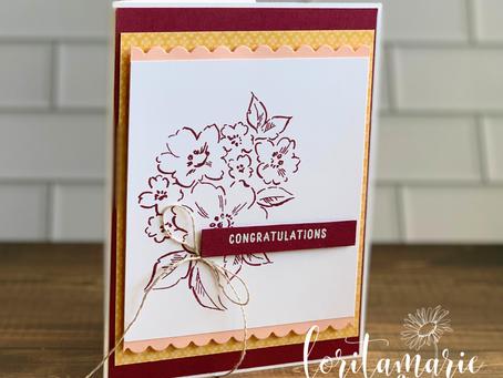 Simple Congratulations Card
