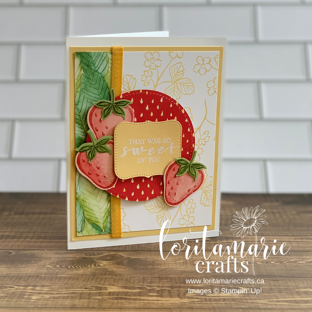Stampin' Up! Canada Sweet Strawberry Bundle