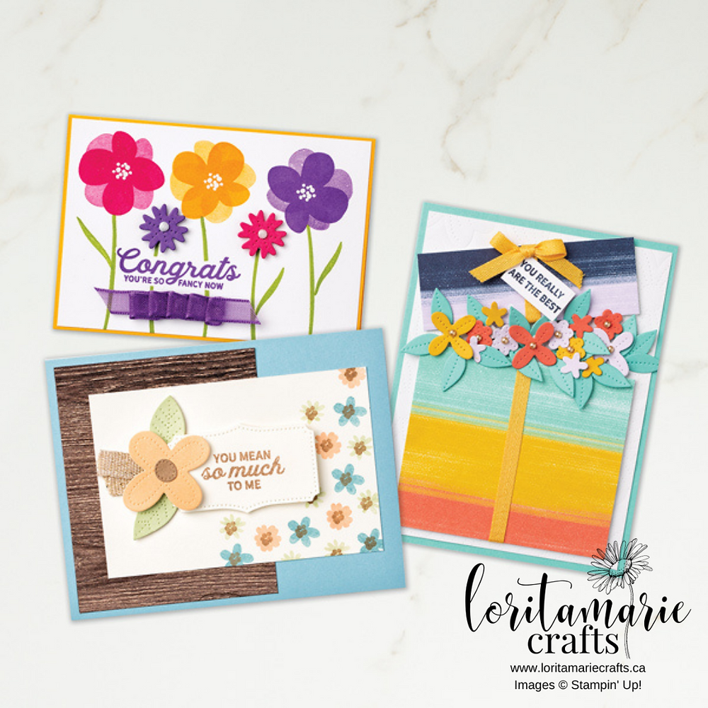 In Bloom Bundle Stampin' Up! Canada