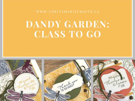 Dandy Garden Class to Go