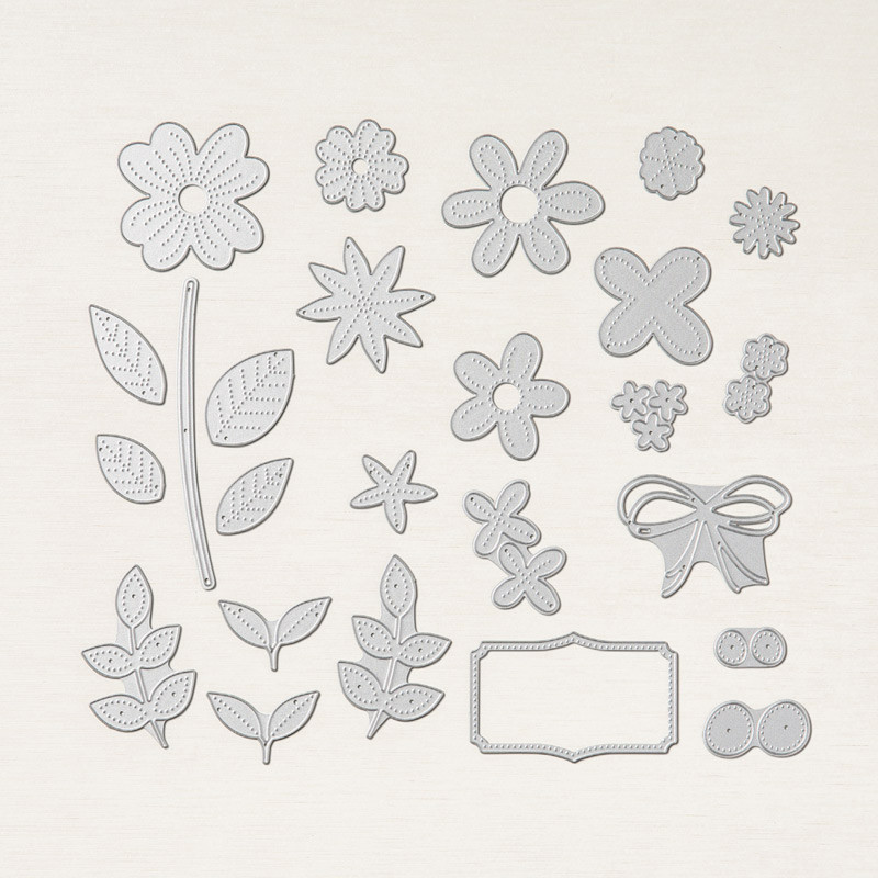 Pierced Blooms Dies Stampin' Up! Canada