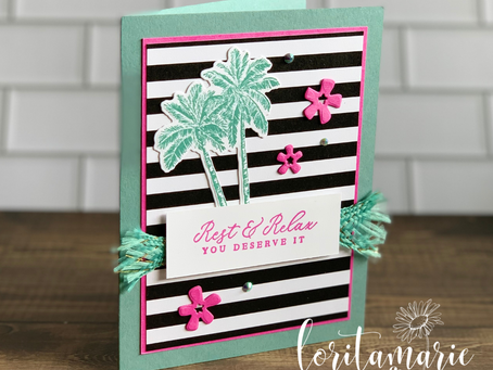 Welcome Summer with the Timeless Tropical Stamp Set