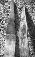 Skis from Champfèr Graubunden