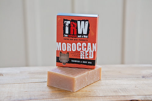 Moroccan Red Shampoo & Body Bar