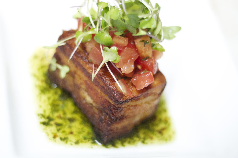 Pho Spiced Pork Belly
