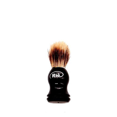 Pincel de Barbear  Cerdas Naturais e Cabo de Madeira