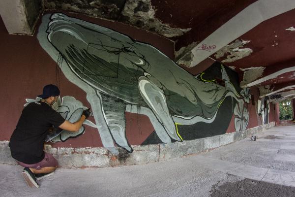 Street art vdychuje nový život