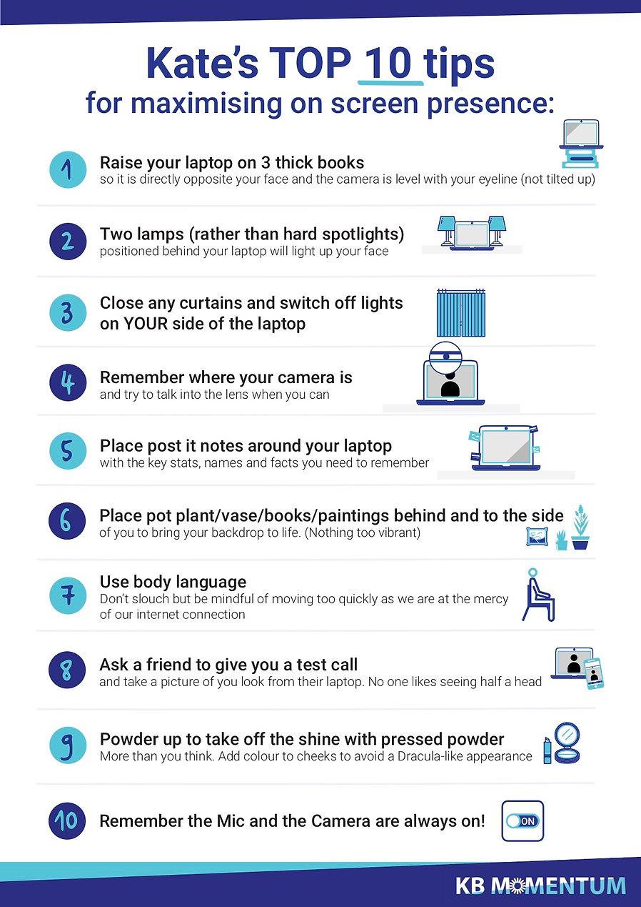 Top 10 Tips Screen Presence .jpg
