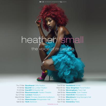 heather small announces 2022 uk tour