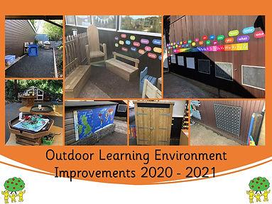 Outside Learning Environment 2020 - 2021