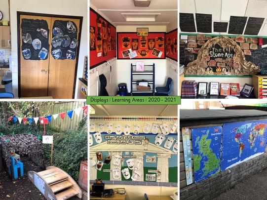 School Displays _ Learning Areas _ 2020