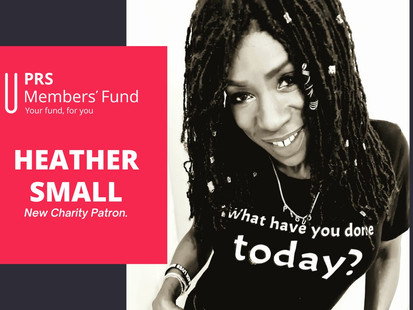 heather small becomes a patron of the prs members' fund