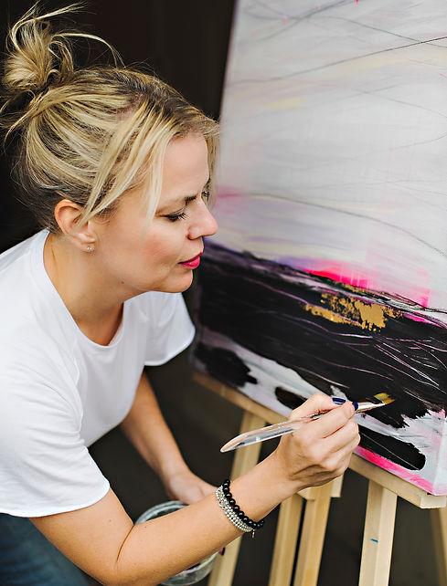 Christine Goucher painting