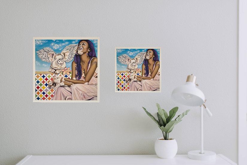 """Dare to Be"" - Eco Prints"