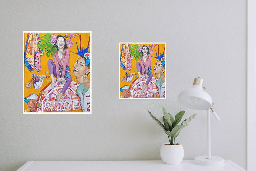 """Galletitas de la Fortuna"" - Eco Prints"