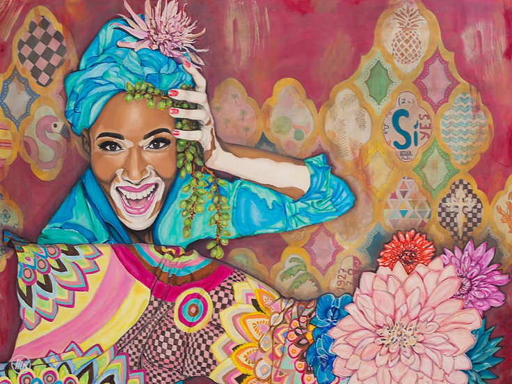 """True Colours Shinning Through"" - Prints on Canvas"