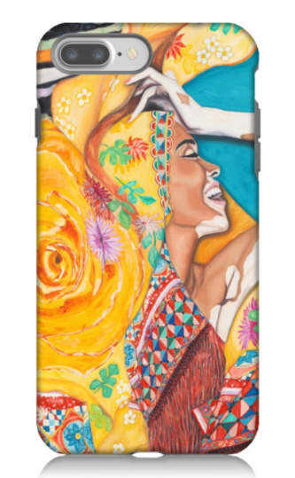 """Spanish Shawl Gone Loco"" - Phone Case"