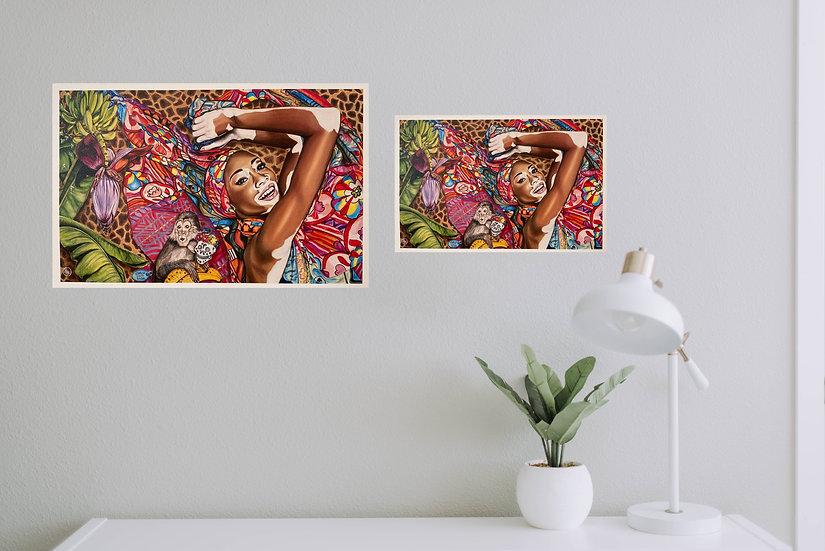 """""""Going Bananas"""" - Eco Prints"""