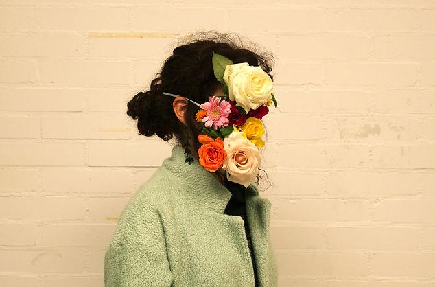 flower self portrait