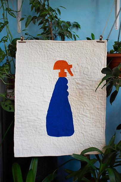 detergent bottle quilt