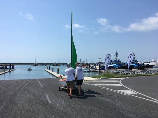 King tide launch