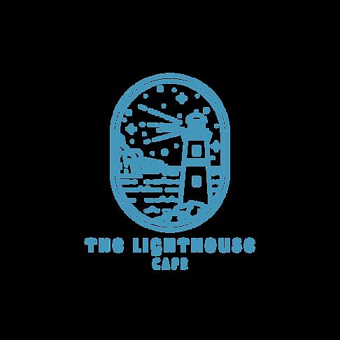 Elegant minimalistic logo with lighthous