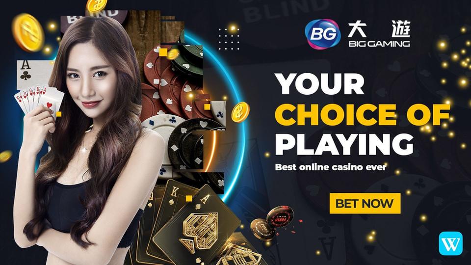 Winbox download the latest version 3.0 BG live casino big gaming