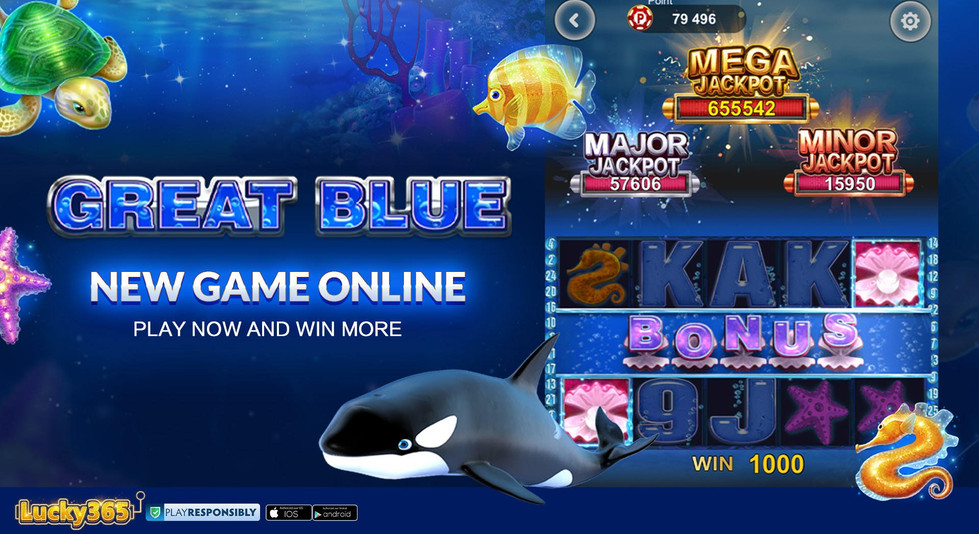 Lucky365 Slots New Games Great Blue-2.jp