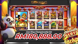 LION KING CHAMPIONSHIP RM180,888.00