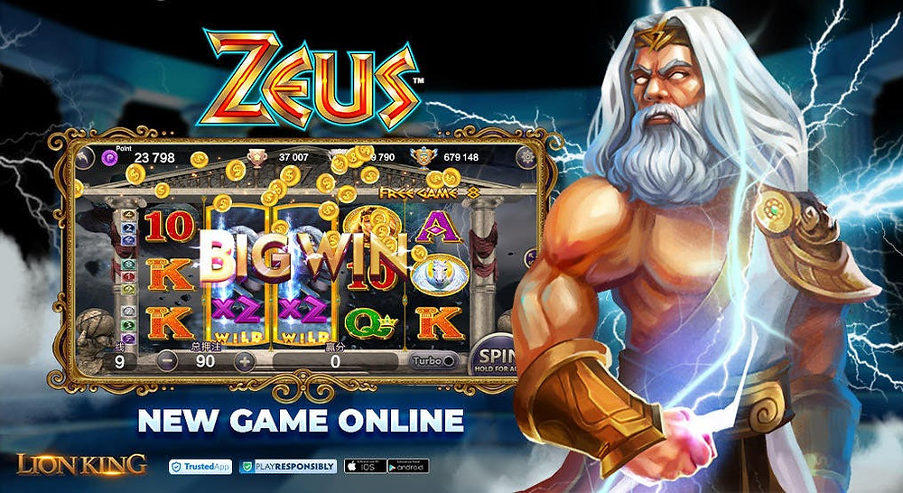 """LION KING slots has added a new game """"Zeus"""""""