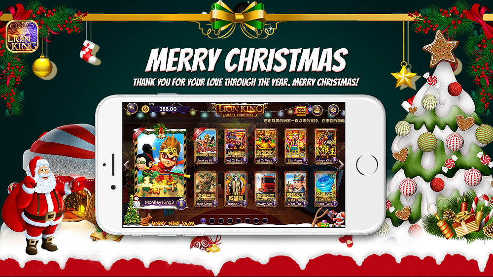 WINBOX Lion King New games Arcade, Christmas 2
