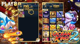 Play8 Ocean King 2 WINBOX Slot Game Mala