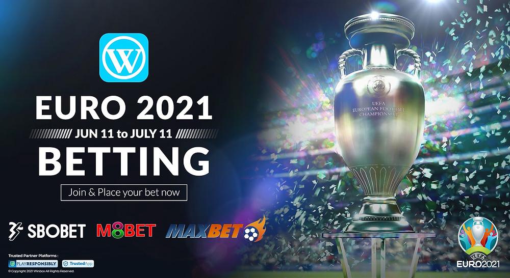 Euro 2021 UEFA 2020 Winbox Online Sports Bettings
